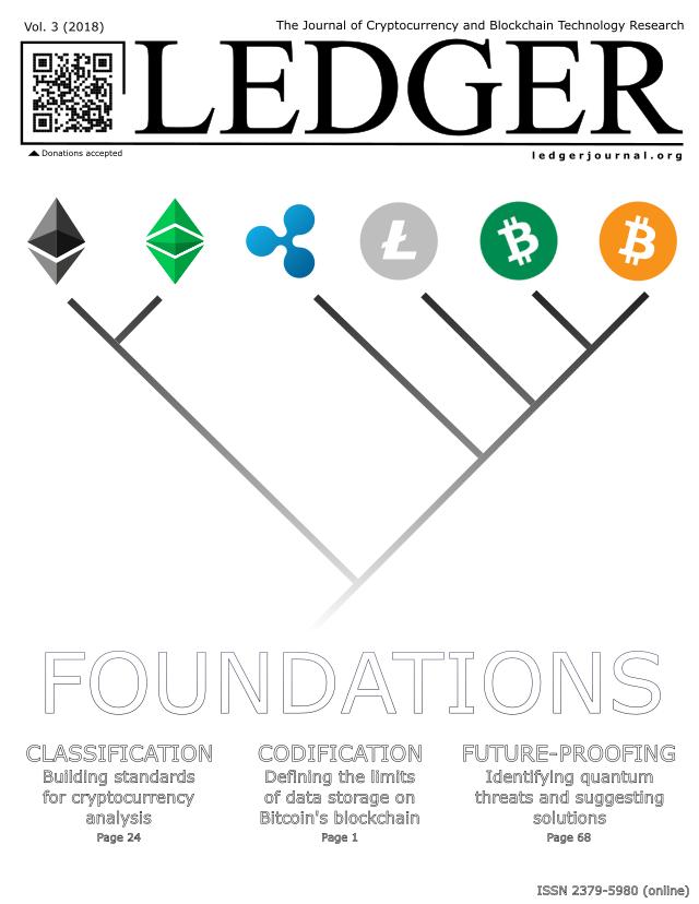 Ledger Volume 3 (2018)
