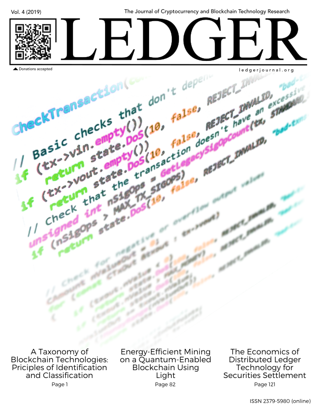 Cover image for Volume 4 of Ledger.