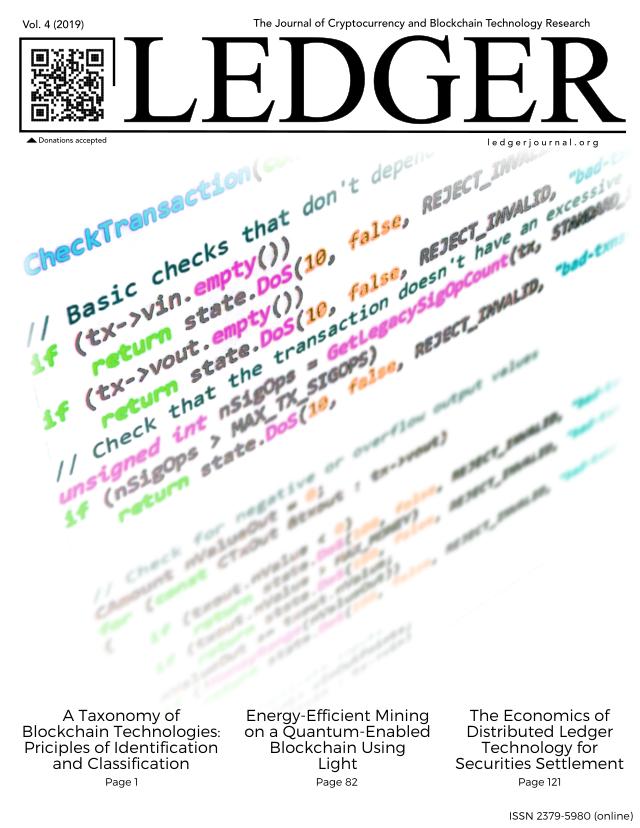 Cover image for Volume 4 of Ledger.